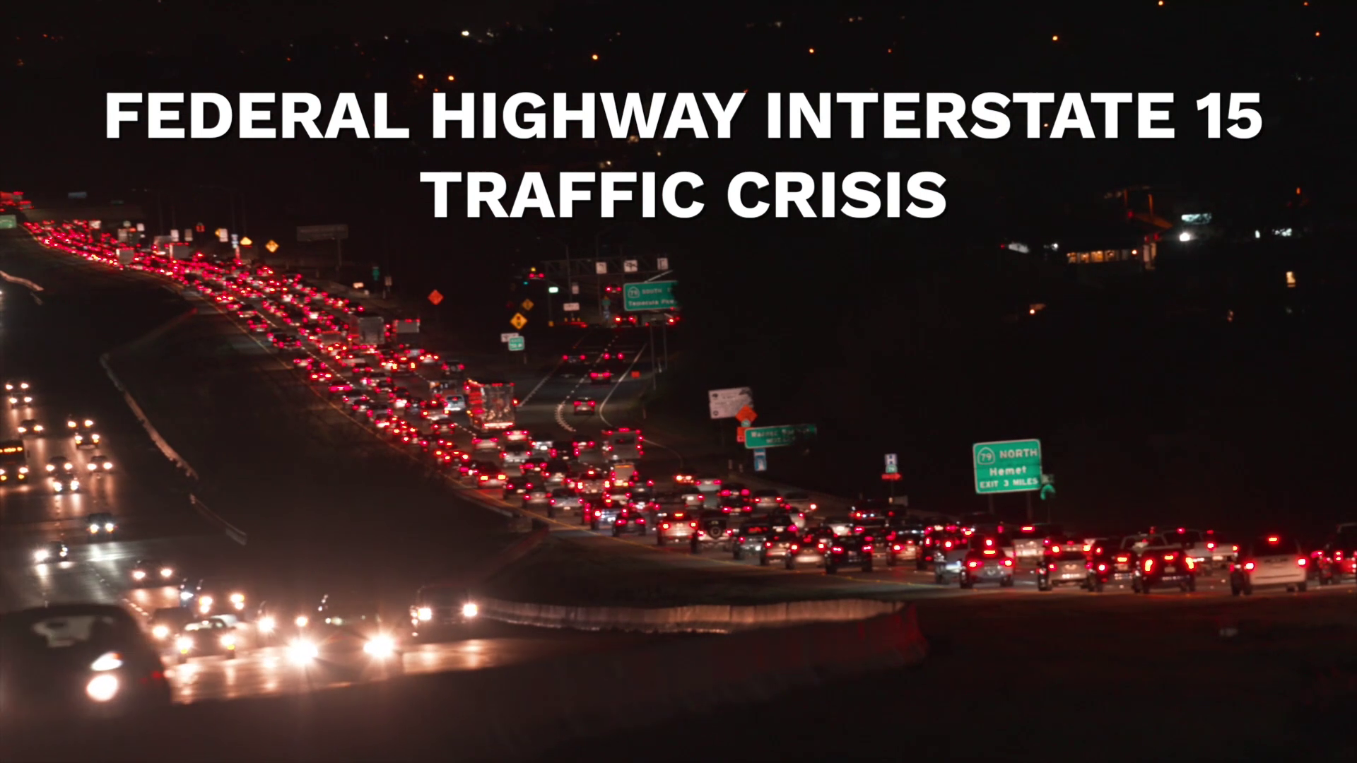 Federal Highway Interstate 15 Traffic Crisis | Temecula CA